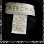 """เสื้อเชิ้ต สีดำ แบรนด์ MERONA """"อก 35-36 นิ้ว"""" thumbnail 5"""