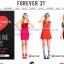 """BN3876--เสื้อผ้ามือสอง-->เสื้อแฟชั่น แบรนด์เนม สีแดง Forever 21 """"อก 32-36 นิ้ว"""" thumbnail 7"""