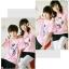 เสื้อยืดคู่รัก สีชมพู สกรีนลาย Snoopy น่ารัก (ราคาขายเป็นคู่ค่ะ) thumbnail 4