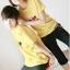 เสื้อยืดคู่รัก สีเหลือง สกรีนลายวัวน่ารัก (ราคาขายเป็นคู่ค่ะ) thumbnail 3