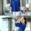 [พร้อมส่ง]เสื้อสตรีผ้าชีฟอง สวยเรียบสไตล์เกาหลีเหมือนแบบค่ะ cutting/pattern เนี้ยบ รหัส A71 thumbnail 8