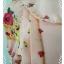 """Dress0709--เดรสแฟชั่นชีฟอง สวยๆ สีชมพูอมโอรส .""""อก 30 นิ้ว"""" thumbnail 5"""
