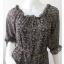 "Dress0641--เดรสแฟชั่น ชีฟอง สวยๆ ""อก 33-35 นิ้ว"" thumbnail 4"