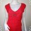 """BN3876--เสื้อผ้ามือสอง-->เสื้อแฟชั่น แบรนด์เนม สีแดง Forever 21 """"อก 32-36 นิ้ว"""" thumbnail 1"""