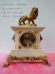 นาฬิกาสิงโตตั้งโต๊ะ สไตล์วินเทจ