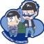Rubber Mascot Buddy Colle - Osomatsu-san Onaji Kao demo, Mainichi Omoshiroi yona! Hen 6Pack BOX(Pre-order) thumbnail 3