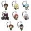 GATE: Jieitai Kanochi nite, Kaku Tatakaeri - Petitkko Trading Metal Charm Strap 8Pack BOX(Pre-order) thumbnail 1
