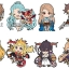 GRANBLUE FANTASY - Rubber Strap Collection vol.1 8Pack BOX(Pre-order) thumbnail 1