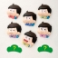 Tama Colle PuniPuni Hoppe Mascot - Osomatsu-san 8Pack BOX(Pre-order) thumbnail 1