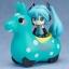 Nendoroid Plus - Hatsune Miku x CuteRody Gekisou! Pullback Car: Miku Hatsune & Cute Rody (Mint)(Pre-order) thumbnail 1
