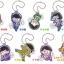 Pita! Deforme - Osomatsu-san Acrylic Keychain 8Pack BOX(Pre-order) thumbnail 1