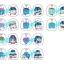 Toy'sworks Collection Niiten-gomu! Clip - Osomatsu-san 10Pack BOX(Pre-order) thumbnail 1