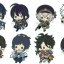 es Series nino Rubber Strap Collection - Touken Ranbu Unit 1 8Pack BOX(Pre-order) thumbnail 1