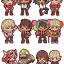 Rubber Mascot Buddy Colle - TIGER & BUNNY 6Pack BOX(Pre-order) thumbnail 1