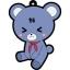 Ao no Kanata no Four Rhythm - Petanko Trading Rubber Strap 8Pack BOX(Pre-order) thumbnail 8