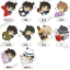 Detective Conan - PitaColle Rubber Strap 10Pack BOX(Pre-order) thumbnail 1