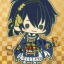 es Series nino Rubber Strap Collection - Touken Ranbu Unit 1 8Pack BOX(Pre-order) thumbnail 2