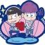 Rubber Mascot Buddy Colle - Osomatsu-san Onaji Kao demo, Mainichi Omoshiroi yona! Hen 6Pack BOX(Pre-order) thumbnail 7