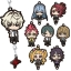 Kiznaiver - Rubber Strap Collection 8Pack BOX(Pre-order) thumbnail 1