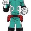 My Hero Academia - Life-size Wall Scroll: Izuku Midoriya(Pre-order)