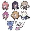Ao no Kanata no Four Rhythm - Petanko Trading Rubber Strap 8Pack BOX(Pre-order)