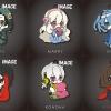 [Bonus] Eformed Mekakucity Actors - PajaChara Rubber Strap Collection Vol.1 6Pack BOX(Pre-order)