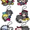 Rubber Mascot - NARUTO Shippuden Sasuke Special! 6Pack BOX(Pre-order)