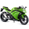 1/12 Complete Motorcycle Model Kawasaki Ninja 250 Lime Green(Back-order)