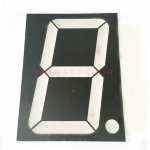"5.00"" Common Cathode 1Bit Digital Tube 7 segment Red LED Display"