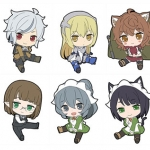 Is It Wrong to Try to Pick Up Girls in a Dungeon? - Petanko Trading Rubber Strap 10Pack BOX(Pre-order)