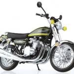 1/12 Complete Motorcycle Model Kawasaki 900Super4(Z1) Tiger(Released)