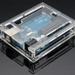 Arduino UNO R3 acrylic case box กล่องอะคริลิคแบบใส สำหรับ Arduino Uno case
