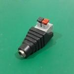DC female Adapter Jack plug 2.1 x 5.5 mm แบบหนีบ