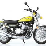 1/12 Complete Motorcycle Model Kawasaki 900Super4(Z1) Yellow Ball(Pre-order)
