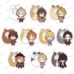 Bungo Stray Dogs - Tsutsumarekko Rubber Strap 10Pack BOX(Pre-order)