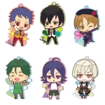 KING OF PRISM - Toji Colle Rubber Clip Badge vol.1 7Pack BOX(Pre-order)