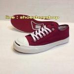 รองเท้า converse Jack สีแดง
