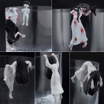 "PUTITTO SERIES - PUTITTO ""Sadako vs Kayako"" 8Pack BOX(Pre-order)"