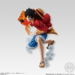 ONE PIECE ATTACK STYLING Honoo no Sankyoudai 3Pack Set (CANDY TOY)(Pre-order)