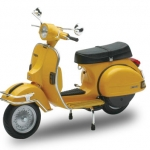 1/12 Complete Motorcycle Model VESPA P200E (1978/Yellow)(Pre-order)