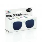 Mustachifier White Sunglasses Age 0-2 แว่นกันแดดเด็กสีขาว