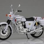 1/12 Complete Motorcycle Model Kawasaki 750RS-P (Z2 Shiro-bai)(Back-order)