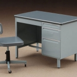 1/12 Accessory for Posable Figures - Office Desk and Chairs Plastic Model(Pre-order)