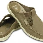 รองเท้าผ้า Crocs Walu Womens Mule สีน้ำตาล เบอร์ W7 (37-38) พร้อมส่ง