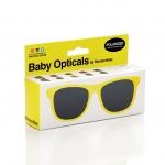 Mustachifier Yellow Sunglasses Age 0-2 แว่นกันแดดเด็กสีเหลือง