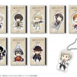 """Anime """"Bungo Stray Dogs"""" - Trading Acrylic Keychain 8Pack BOX(Pre-order)"""