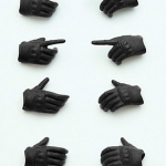 "Little Armory-OP03: figma Tactical Gloves ""Stealth Black""(Pre-order)"