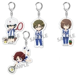 Pic-Lil! The New Prince of Tennis Trading Acrylic Keychain Seigaku 5Pack BOX(Pre-order)