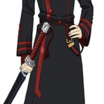 D.Gray-man HALLOW - Life-size Wall Scroll: Yu Kanda(Pre-order)