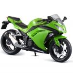 1/12 Complete Motorcycle Model Kawasaki Ninja 250 Lime Green(Back-order)